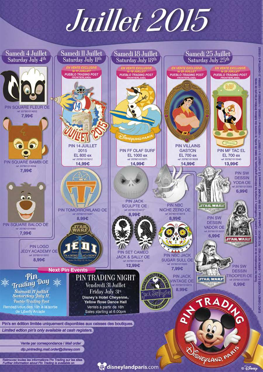 Pins Disney 00112