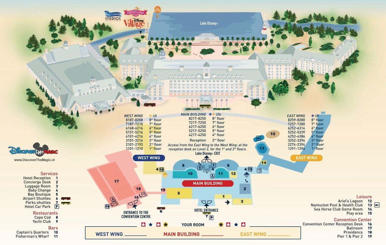 Disney's Newport Bay Club Hotel **** Hotels12