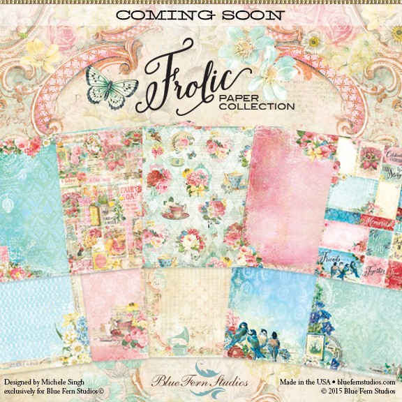 nouvelle collection Blue fern Frolic10