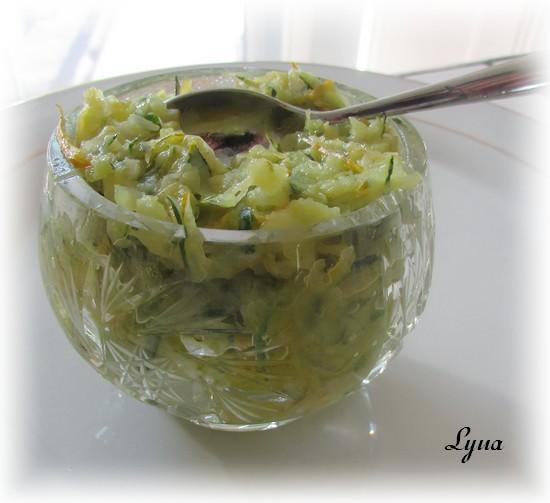 Beurre de zucchini Beurre13