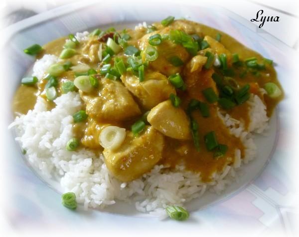 Curry de poulet à la mangue Curry_10