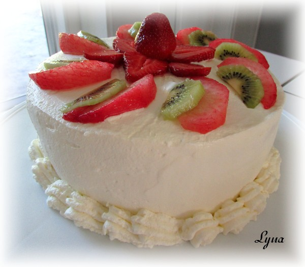Gâteau Ogura aux fruits frais Ogura810