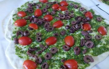 Pizza stromboli d'Alexandre Brunet Pizza310