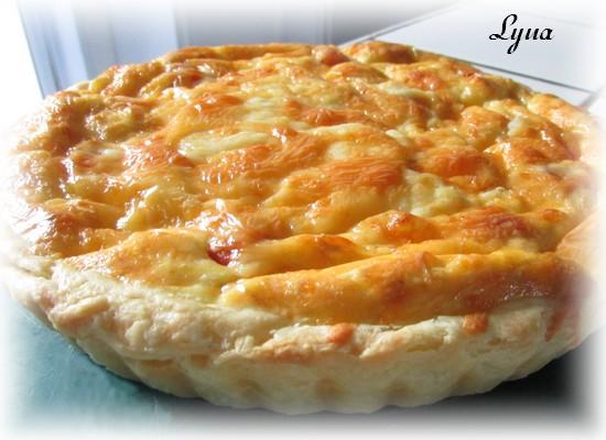 Pâte à tarte à la crème sûre Quiche14