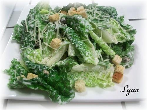 Salade César à ma façon Salade13