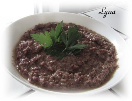 Tapenade d'olives noires à la fleur d'ail Tapena10