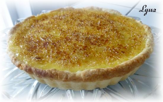 Tarte à la crème brûlée au citron Tarte_12