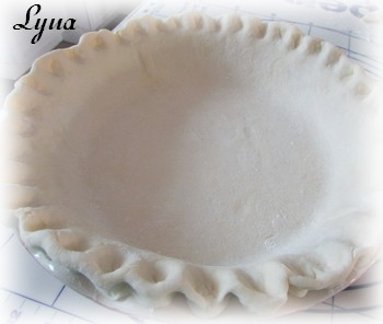 Tarte aux oeufs, pâte à tarte à la crème sûre Tarte_17