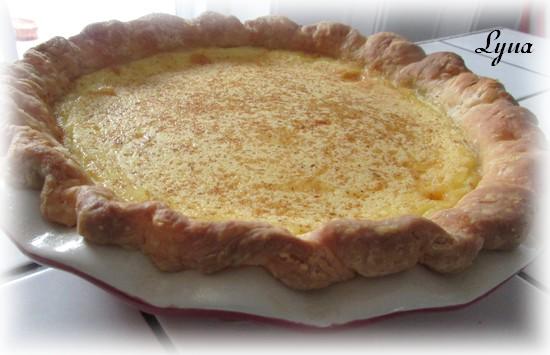 Tarte aux oeufs, pâte à tarte à la crème sûre Tarte_18