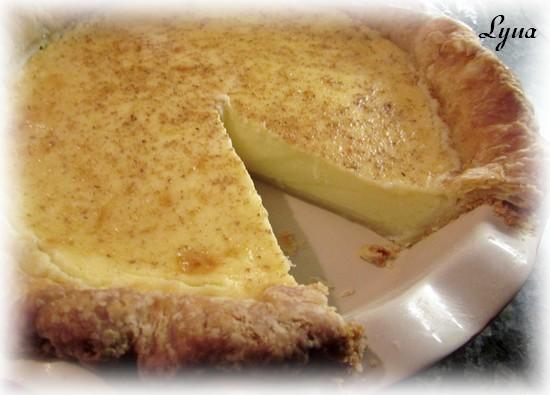 Tarte aux oeufs, pâte à tarte à la crème sûre Tarte_19