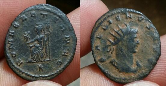 antoninien Gallien pour Antioche Picsar18