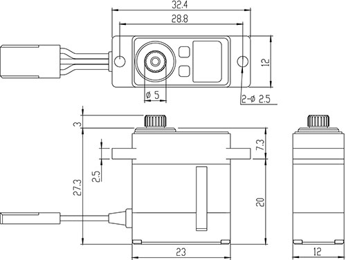 Recherche servo SAVOX SV-1232MG 21cmg110