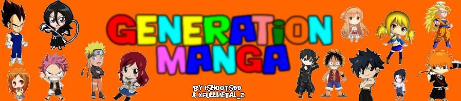 Génération-Manga