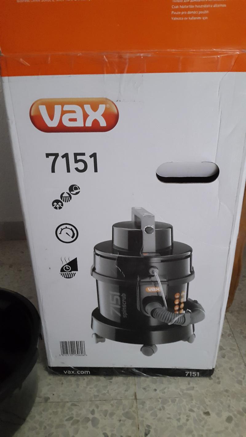 Test aspirateur (injecteur-extracteur) VAX 7151 20150811