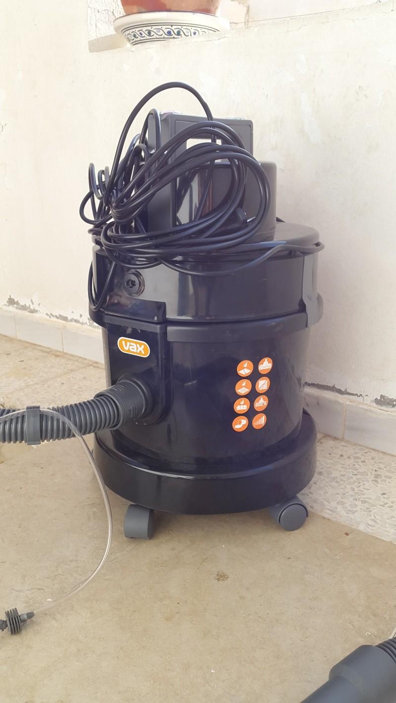 Test aspirateur (injecteur-extracteur) VAX 7151 20150812