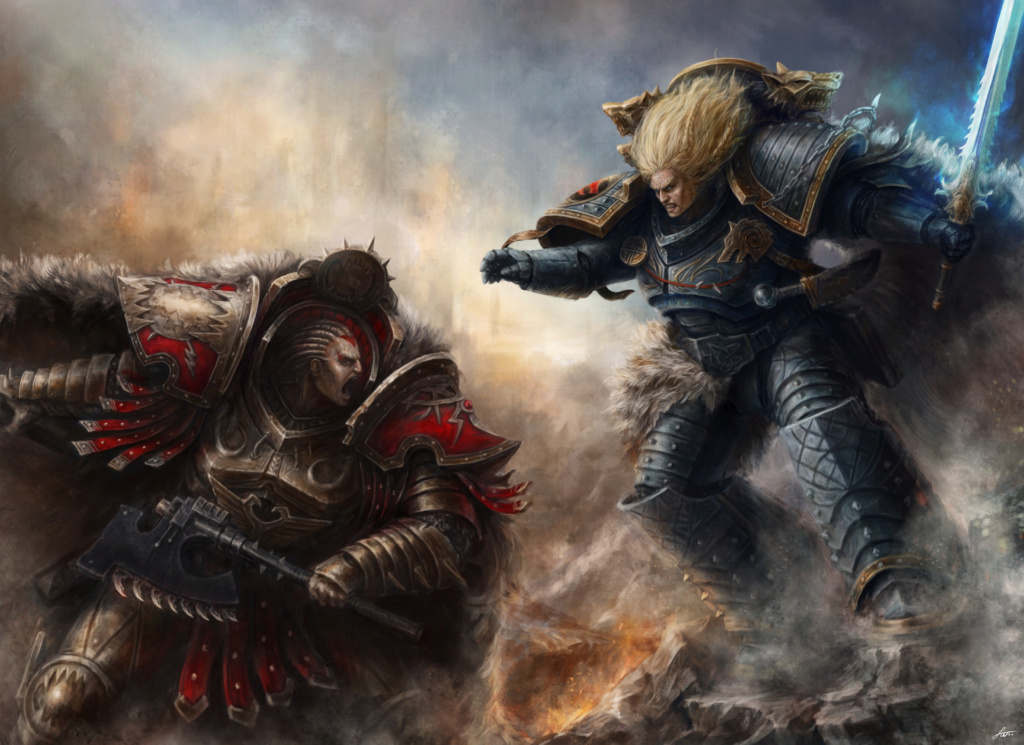 [W30K] Legiones Astartes XII : World Eaters - Page 2 Angron11