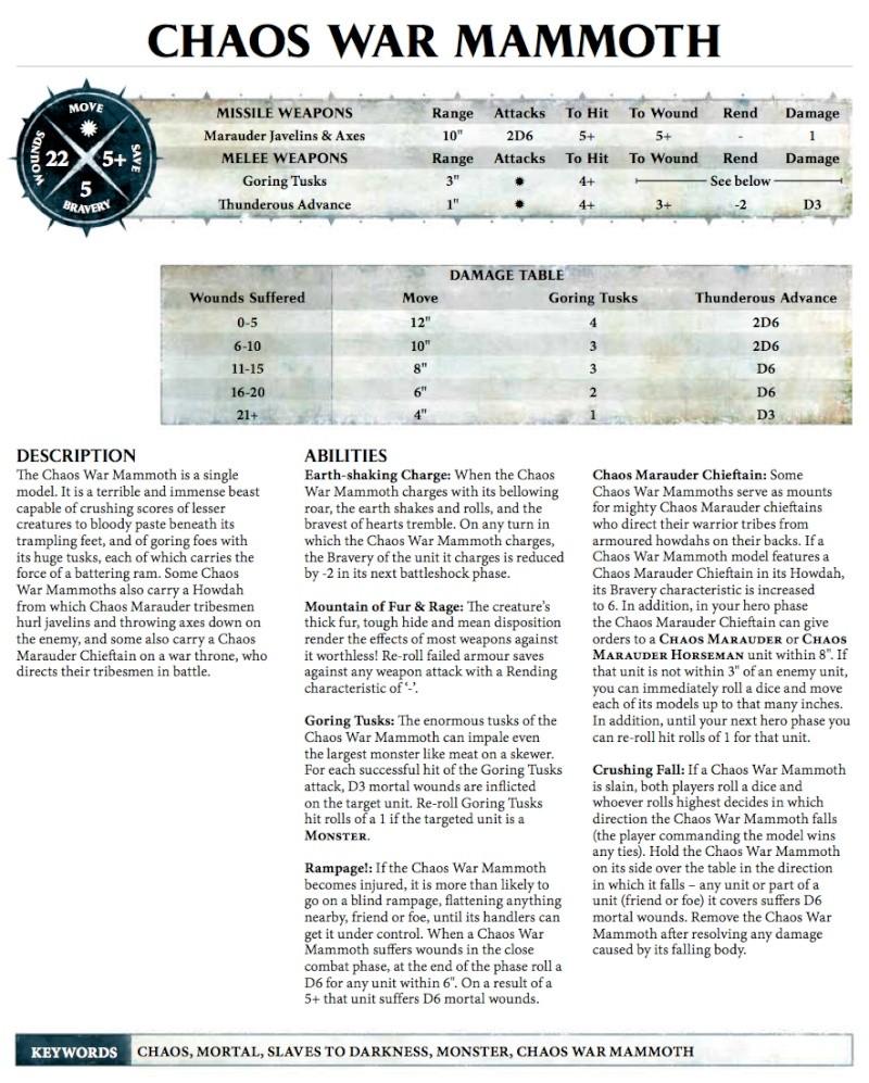 [Règles] Warhammer Age of Sigmar, vos retours - Page 2 Mammot10