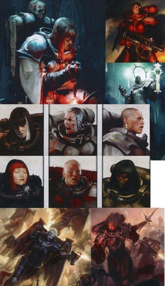 [W40K] Collection d'images : Inquisition/Chevaliers Gris/Sœurs de Bataille - Page 16 Sob410