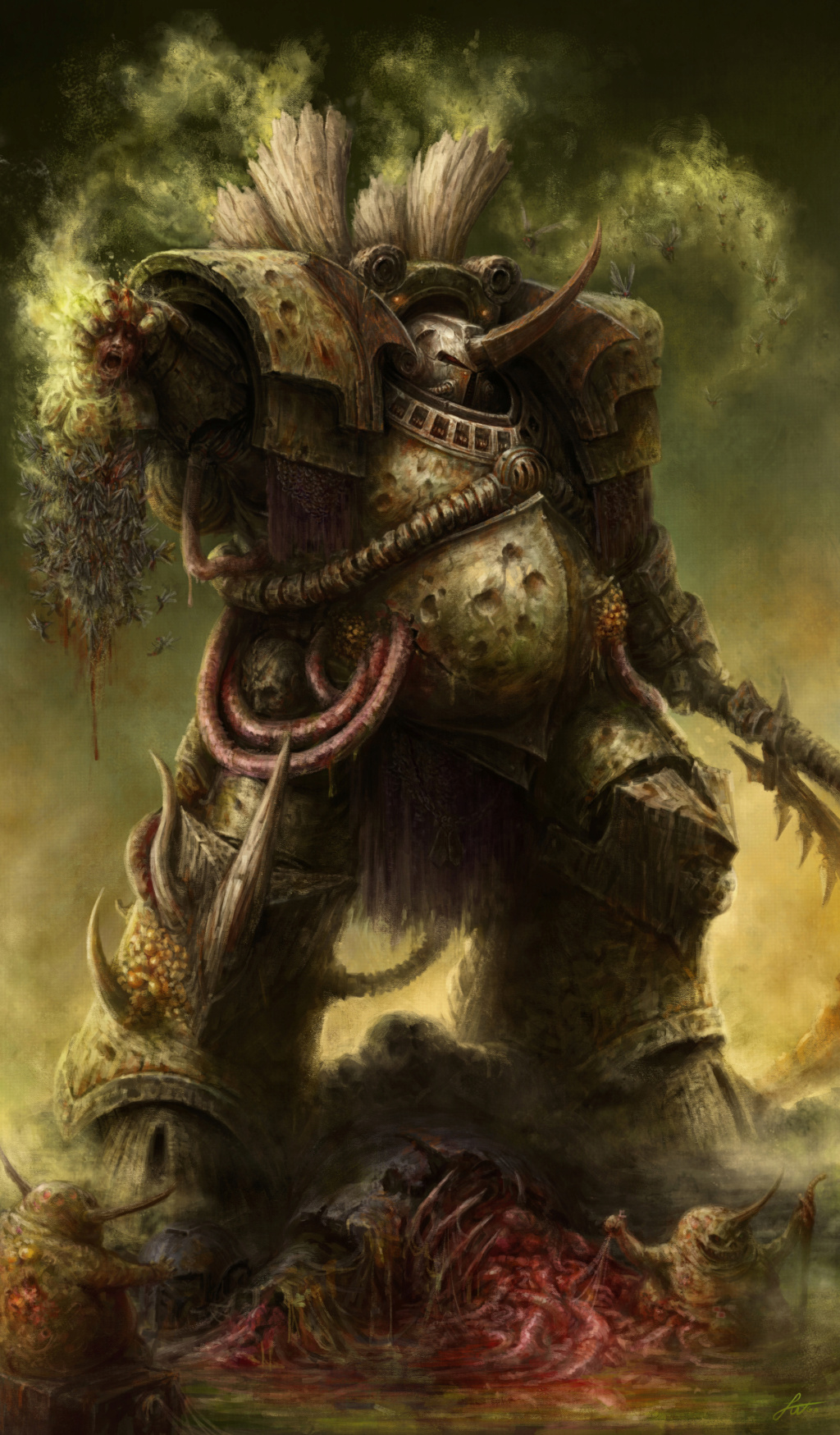 [W40K] Collection d'images : Space Marines du Chaos - Page 13 Typhus10