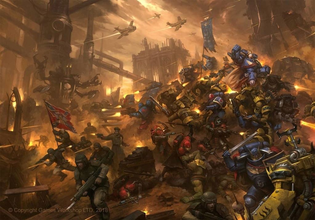 [W40K] Collection d'images : Warhammer 40K divers et inclassables - Page 10 Vigilu14
