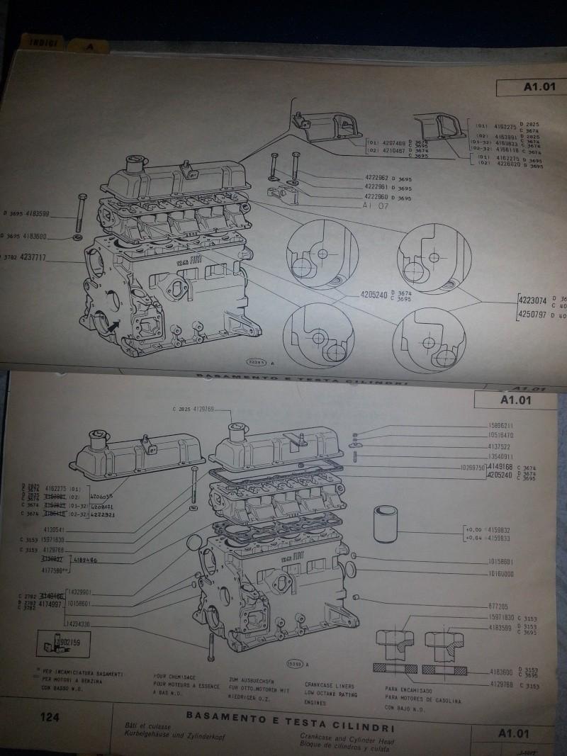 Motore Fiat 124 B 20150711