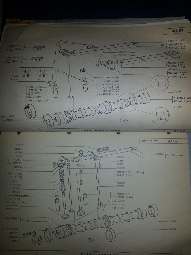 Motore Fiat 124 B 20150713