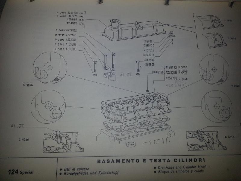 Motore Fiat 124 B 20150714