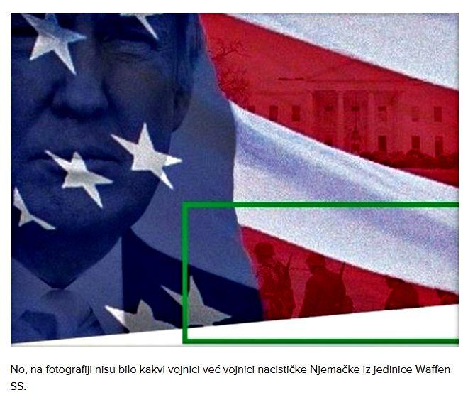 Donald Trump u reklami za predsjedničku kampanju koristio fotografiju nacističke vojske Donald10