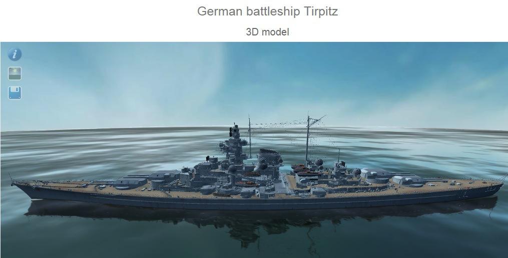 Tirpitz & Bismarck Models, Armor Layouts and Stats 110