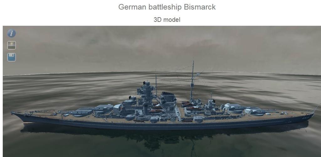Tirpitz & Bismarck Models, Armor Layouts and Stats 410