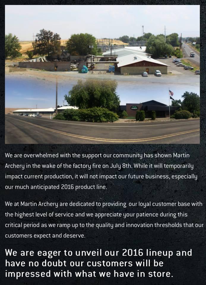 MARTIN ARCHERY : Un nouveau départ ! - Page 5 11667210