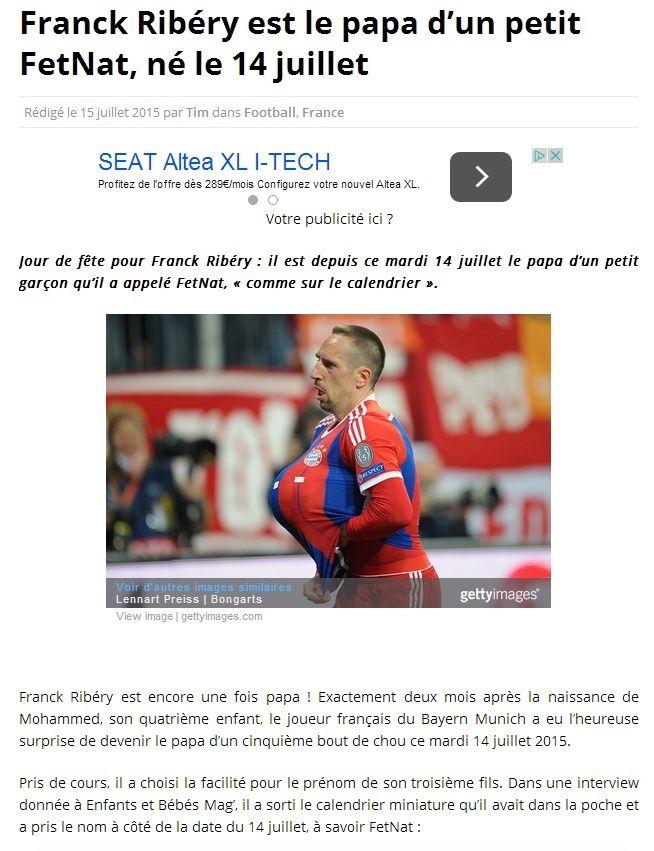 Franck RIBERY toujours au top.... Captur16