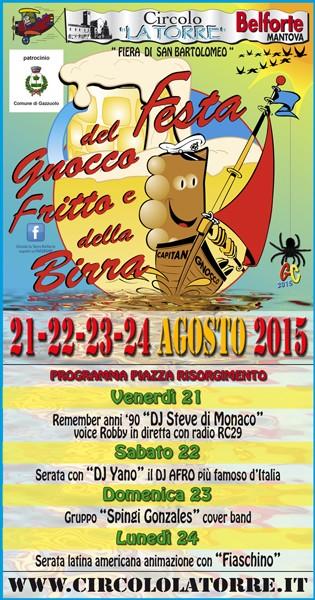 birra - 14° festa del gnocco fritto e della birra Belforte MN Poster10
