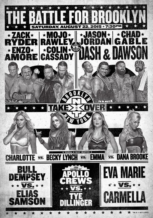 NXT Takeover : Brooklyn du 22/08/2015 Nxt12