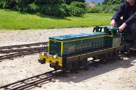 Les mini-trains à passagers