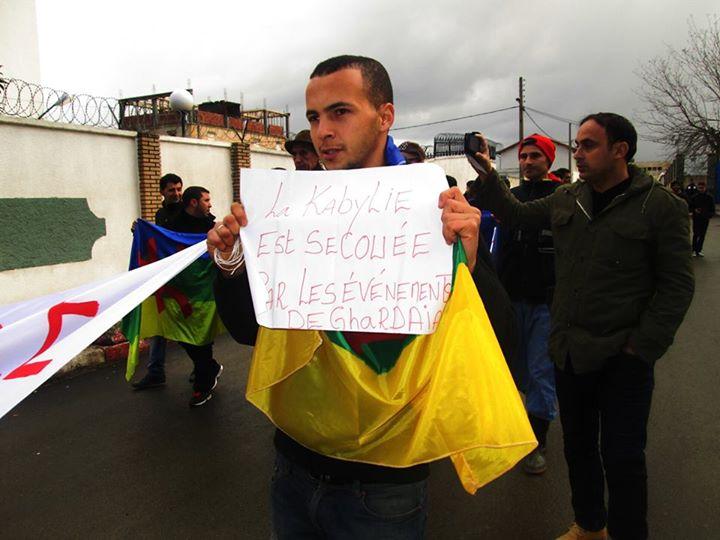 La Kabyle est secouée par les évenements de Ghardaia  535
