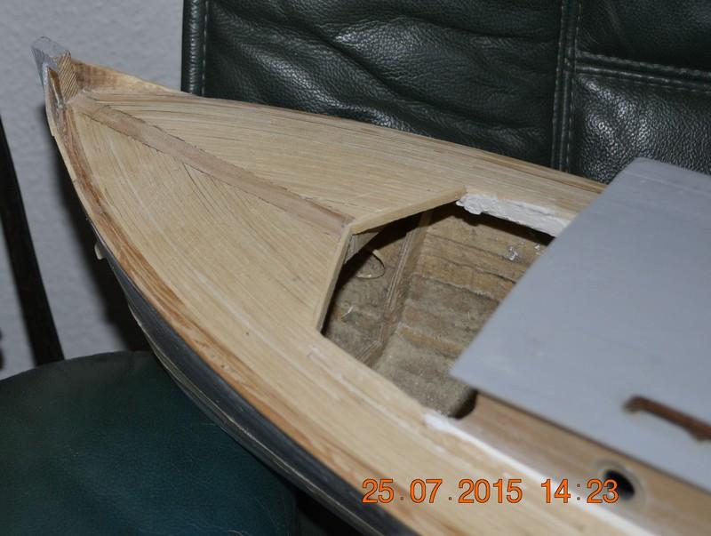 Pinasse de plaisance d'Arcachon d'après plan MRB au 1/15ème   - Page 8 _dsc0326