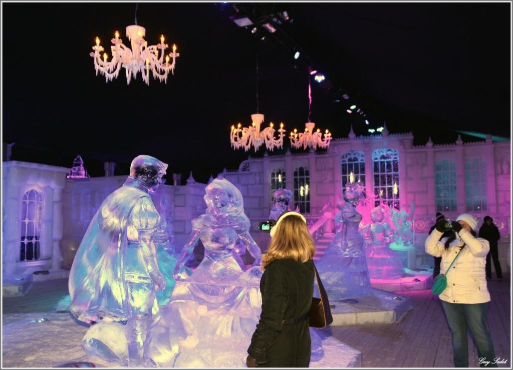 Festival de sculptures sur glace de Bruges - Belgique Frozen10