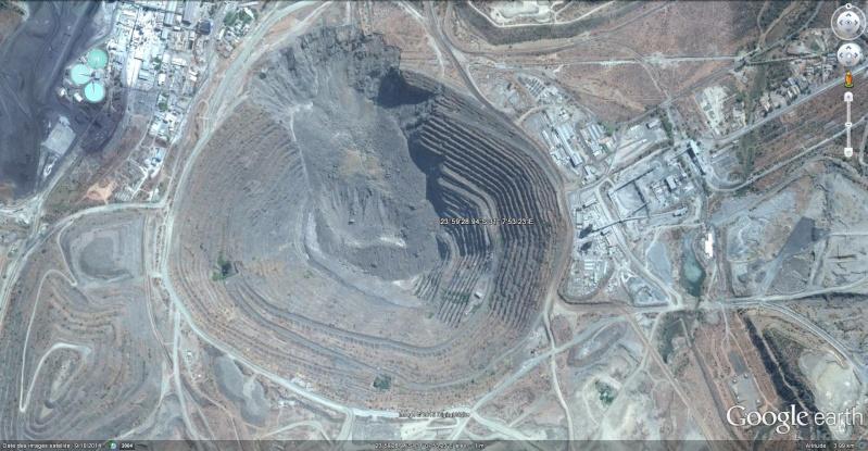 Mine de cuivre de Palabora - Afrique du Sud Mine_d10