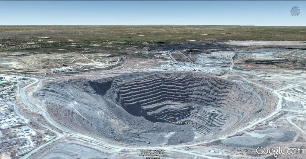 Mine de cuivre de Palabora - Afrique du Sud Mine_d11
