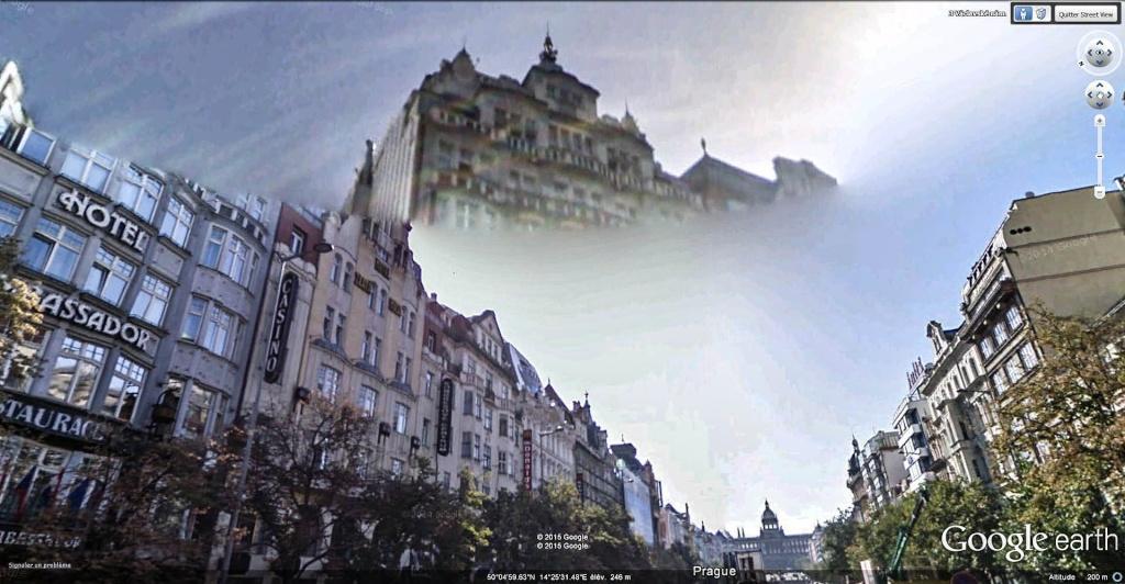 STREET VIEW : Bugs, collages, défauts dans l'image - Page 5 Prague11