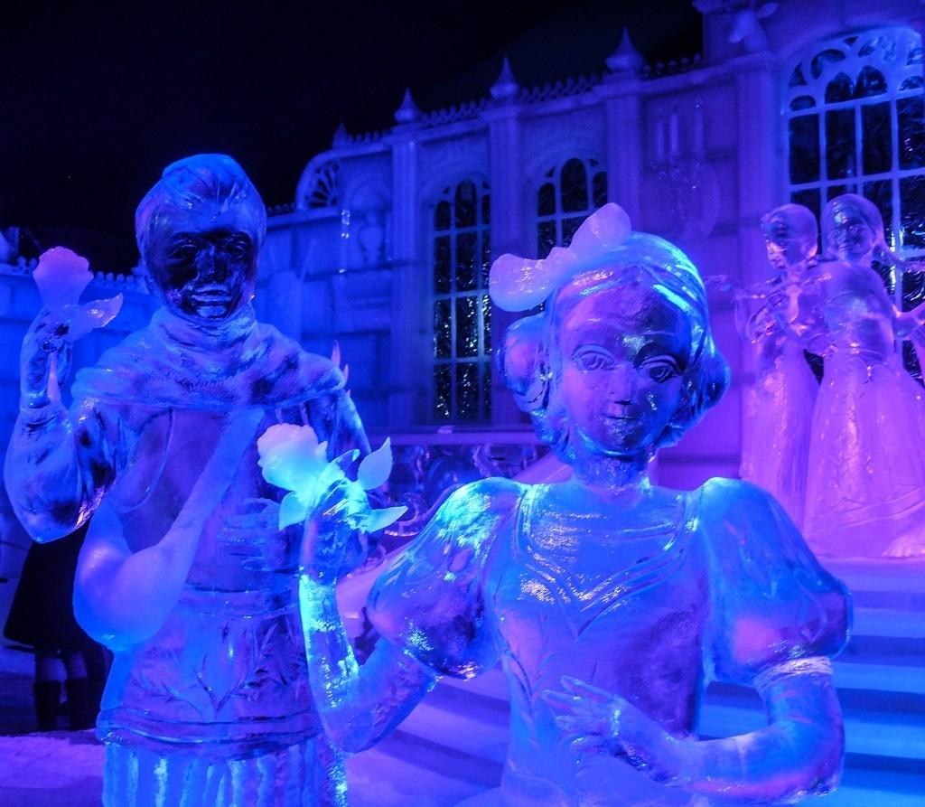 Festival de sculptures sur glace de Bruges - Belgique Ss850110