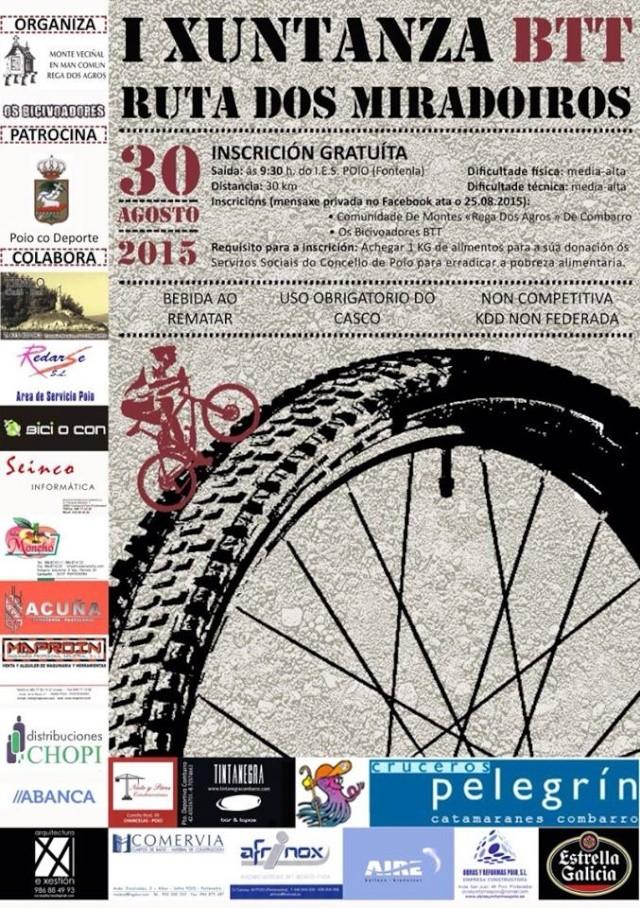 <Kedada> I Xuntanza BTT ruta dos miradoiros (Poio 30/08/´15) 11846710
