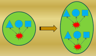 The Design of the Simplest Self-Replicating living cell Sem_ty41
