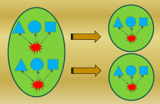 The Design of the Simplest Self-Replicating living cell Sem_ty42