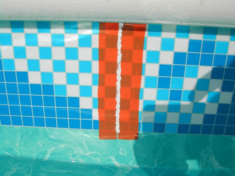 Pose frise sur liner. Dscn5115