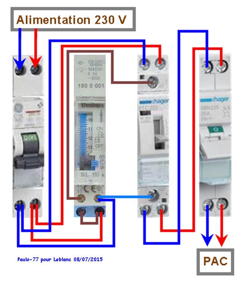 Raccordement élect. PAC pour asservissement filtration Escatop (RÉSOLU) - Page 2 Tablea10