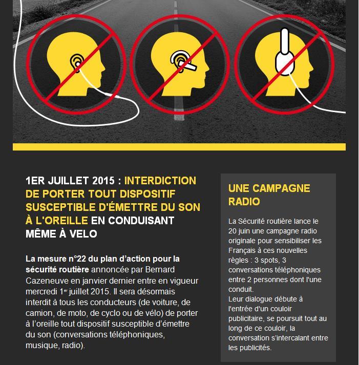 Intercom toléré en moto à partir du 01/07/15! Interc10