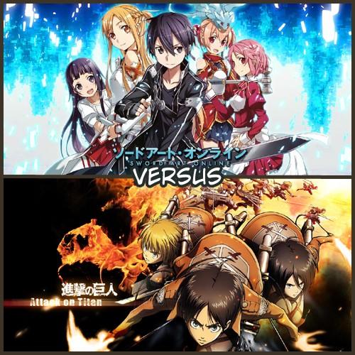 [VERSUS] Sword Art Online VS Attack On Titan Vs510