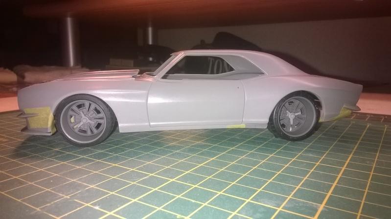 C1 Models - Camaro 67' Resto mod Widebody transkit C1 models  Wp_20130